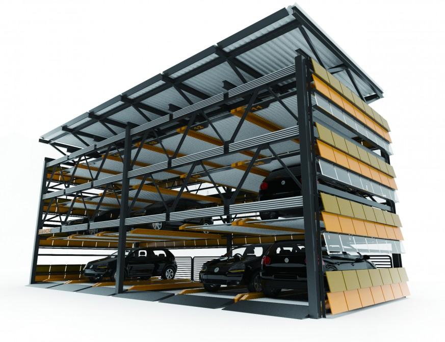【hytone】立体车库钢结构的特点与设计方法