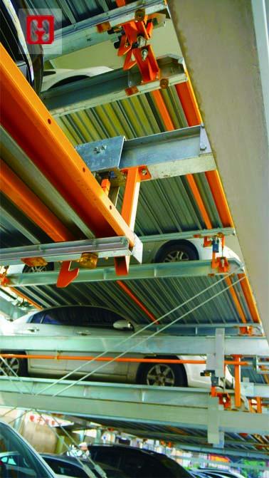 上海商业会计学校车库-2大模板
