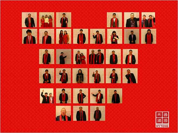 照片墙-员工照片-宽2米×高1米