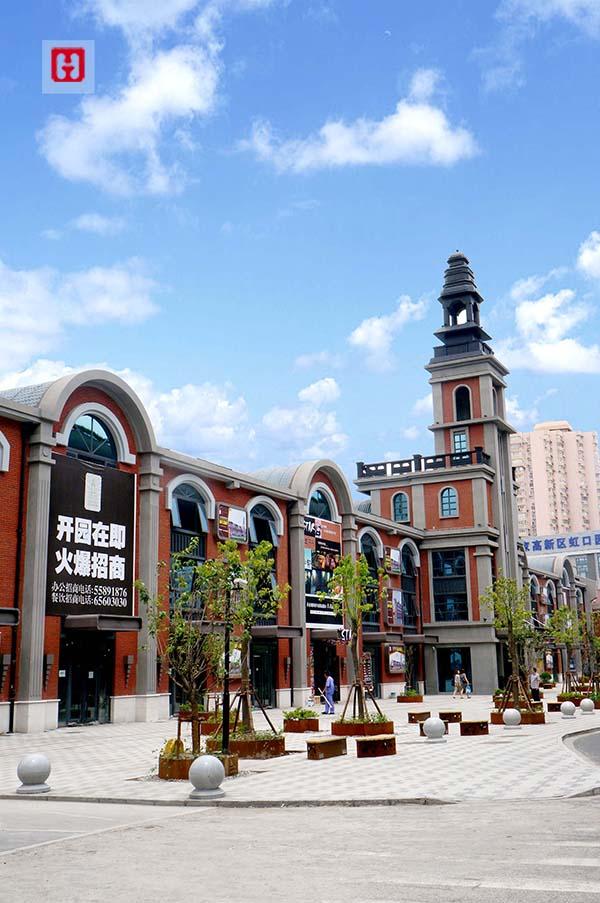 上海1876老站创意园门头照