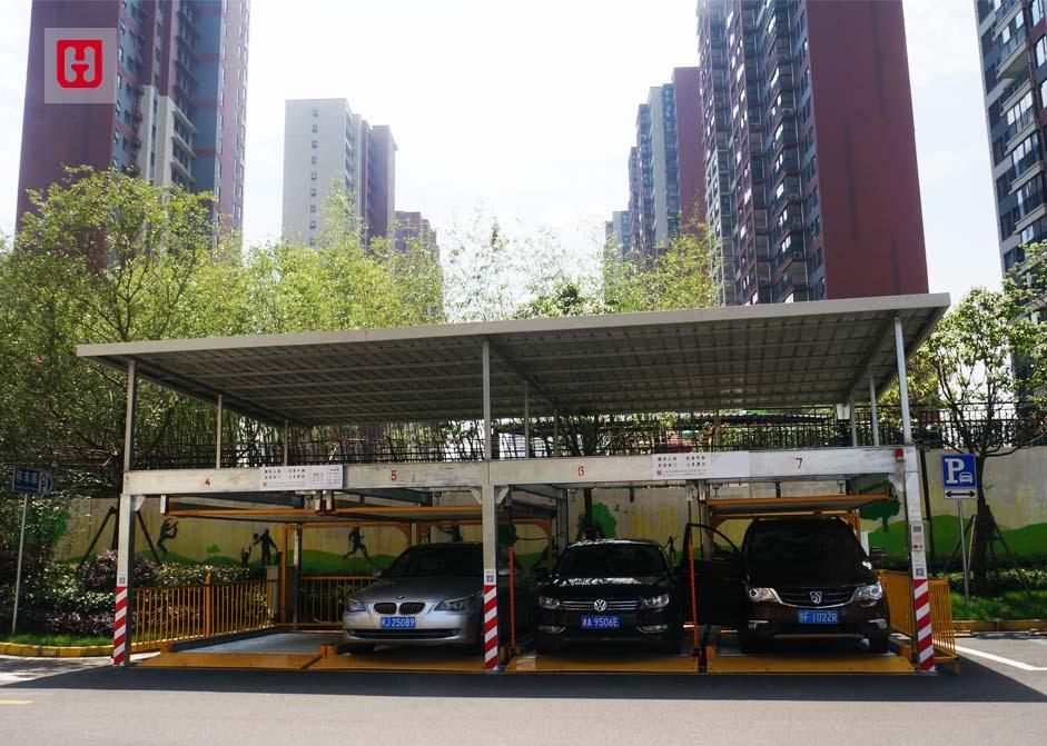 上海市万科旗忠万科城车库照大模板-2