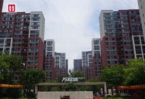 上海市万科旗忠万科城门头照小模板
