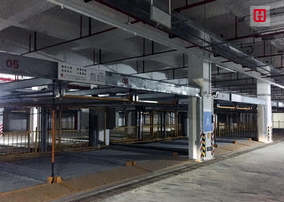 上海国际汽车城车库照大模板